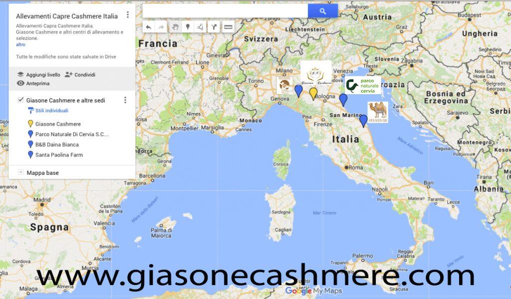 Allevamenti Capre Cashmere Italia